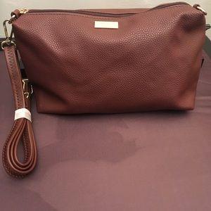 Leather Brown Micheal Kors Shoulder Bag